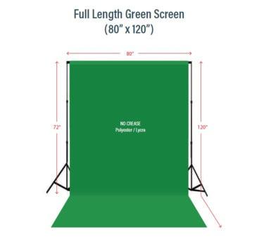 Full Length Green Screen